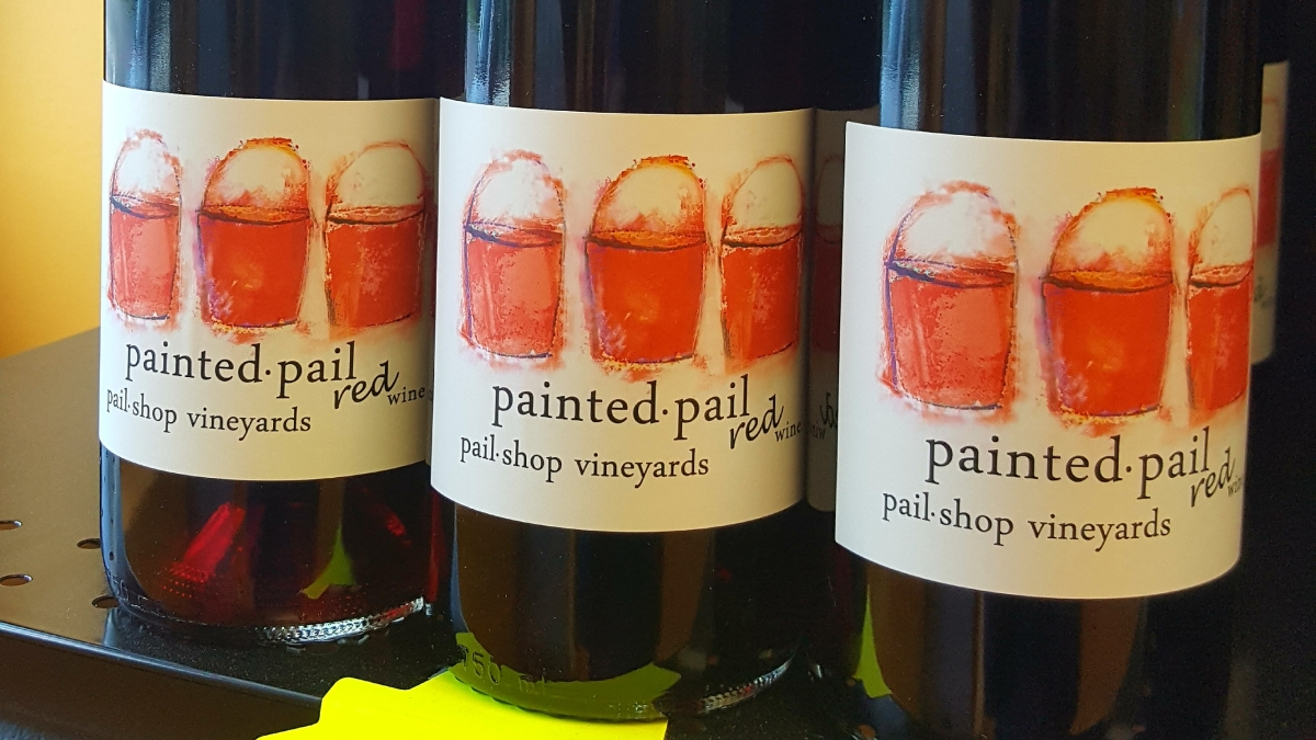 Painted Pail Red Blend