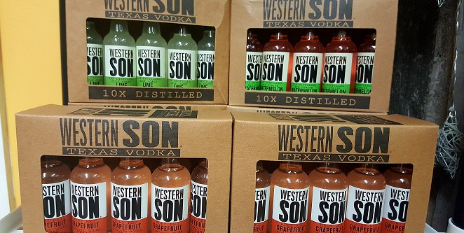 Western Son Flavored Vodkas