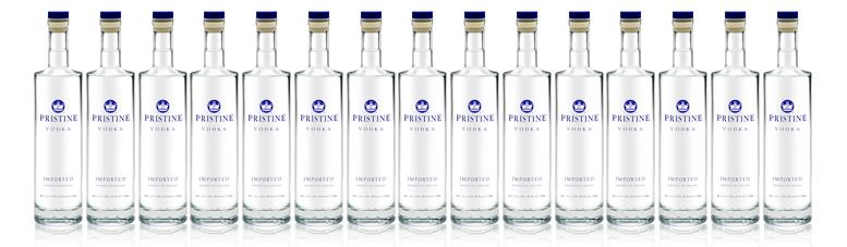Pristine Vodka - Liquor Stores